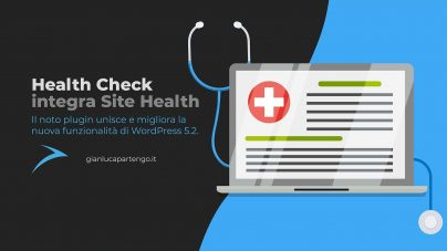 Health Check integra Site Health di WordPress 5.2